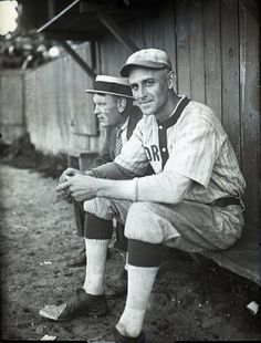 1925 photograph of Ray Jordand of the Portland Green Sox. (Maine Historical Society)