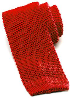 Shop Charvet Knit Silk Tie in Red for $180:  http://lookastic.com/men/red-knit-tie/shop/charvet-knit-silk-tie-red-22334