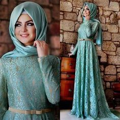 Hijab Style for Young Prom Girls 2017