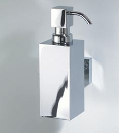 Decor Walther Decorative Bathroom Accessories Chrome Soap Dispenser  Wall Mounted Harlequin London