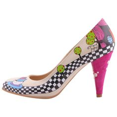 Hotstepper Where is Alice? Painted Shoes, Pumps, Heels, Hot, Alice, Fashion, Heel, Moda, Fashion Styles