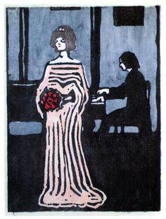 The singer -  Wassily Kandinsky, 1903