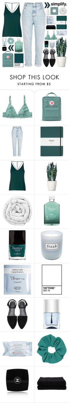 """""""♡ cause i know the sound, i know the sound of your heart ♡"""" by becauseallycan ❤ liked on Polyvore featuring Monki, Fjällräven, River Island, Shinola, Topshop, Brinkhaus, H2O+, Butter London, Fresh and Deborah Lippmann"""