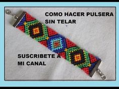 PULSERA SIN TELAR 4 - YouTube