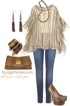 Bronze Beauty, created by bridgetteraes on Polyvore