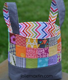 0513 - Fabric Basket for cjnna | Flickr - Photo Sharing!