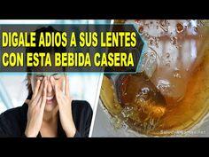 Dígale ADIOS a sus Lentes Solo Con Esta Bebida Casera - Salud y Algo Más - YouTube