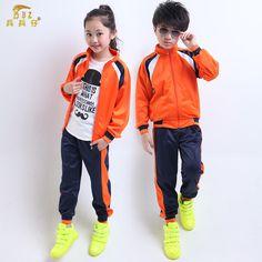 Juego de los deportes de primavera y otoño de los nuevos niños ropa jardín  vivero alumnos 485cde0d56605