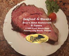 PCB Seafood & Steak  -Boars Head Restaurant - Front Beach Road- boarsheadrestaurant.com
