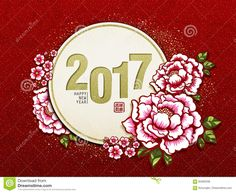 2017 Chinese New Year - Download From Over 67 Million High Quality Stock Photos, Images, Vectors. Sign up for FREE today. Image: 84383338