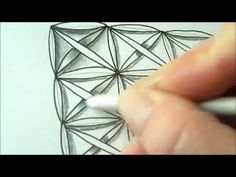 How to draw tanglepattern Fife - YouTube