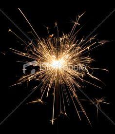 lights sparkle celebration exploding Royalty Free Stock Photo