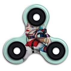 Cheap price Harley Quinn Picture Spinner Fidget Toy Hand Spinner Toy EDC  Helps Focus Stress Anxiety