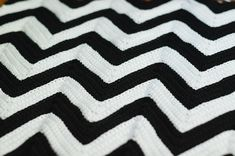chevron crochet afghan pattern  My grandma made me one of these when I was little!