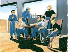 """Fullmetal Alchemist: Chillin"""