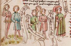 Wolfenbüttel, Herzog August Bibliothek,  Thomasin <Circlaere>   Welscher Gast (W) — Süddeutschland, 3. Viertel des 15. Jhs. Cod. Guelf. 37.19 Aug. 2° Folio 30v