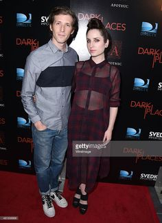 Daryl Wein and Zoe Lister Jones arrives at the Premiere Of DIRECTV's 'Dark Places' at Harmony Gold Theatre on July 21, 2015 in Los Angeles, California.