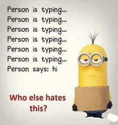 Hilarious captions For all Minions fans this is your lucky day, we have collected some latest fresh insanely hilarious Collection of Minions memes and Funny picturess Funny Minion Pictures, Funny Minion Memes, Funny School Jokes, Some Funny Jokes, Really Funny Memes, Crazy Funny Memes, Minions Quotes, Funny Puns, Funny Relatable Memes