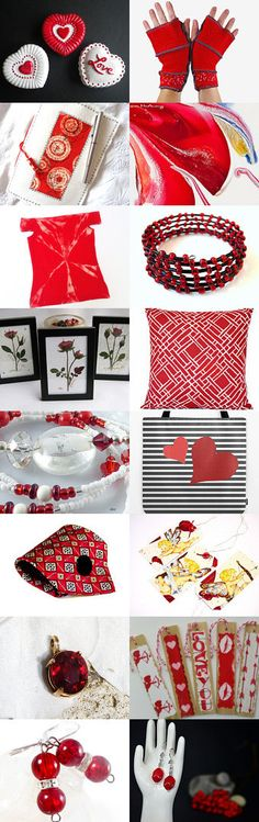 Rich Red by Karina Scott on Etsy--Pinned with TreasuryPin.com