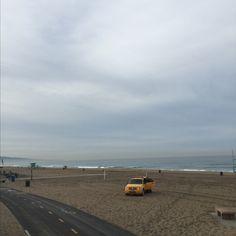 El Porto Beach in Manhattan Beach, CA
