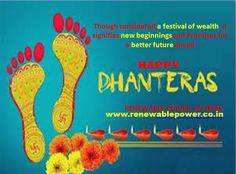 #Renewablepowersystemsdelhi wishes #HappyDhanteras2020
