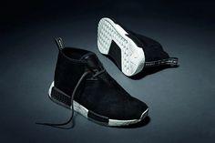 Adidas anuncia una fecha de lanzamiento para el Negro Gamuza NMD Chukka