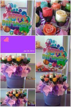 Flower Pastillas by SweetBlooms Pasta, Deserts, Creative, Flowers, Food, Pills, Essen, Postres, Meals