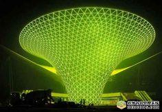 Expo 2010 - Shanghai - the world's largest LED Light show