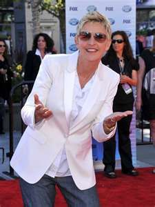 Ellen DeGeneres - Living & Loving her life...beautiful person that makes me laugh until I pee myself! lol