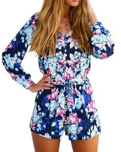 I'm so excited for spring and summer and just the sun and this is like a perfect outfit for summer! Get this at: http://www.newchic.com/jumpsuits-and-rompers-3702/p-1002565.html...