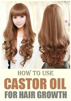 How to Use Castor Oil for Hair Growth?