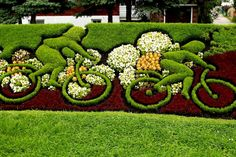 Bicycle art in a park