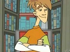 Carl Squared (animated TV series 2005 to present). Carl is a high school student.  In one episode he is banned from the library for keeping a book about puberty past its due date.