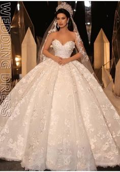 the princess wedding dress Princess Wedding Dresses, White Wedding Dresses, Bridal Dresses, Extravagant Wedding Dresses, Simple Lace Wedding Dress, Beautiful Wedding Gowns, Casual Wedding, Elegant Wedding, Maid Of Honour Dresses