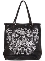 Back In Stock - Sugar Storm Trooper Tote Bag by Loungefly Handbags