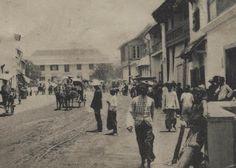 Kartupos kuno Indonesia th.1910, kartupos bergambar foto asli pada jaman Belanda di Indonesia (Nederlandsch Indie), daerah Kembang Jepun, Surabaya.