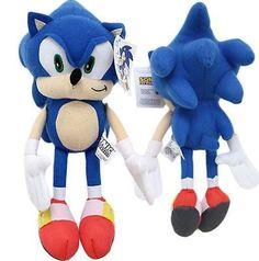 Blue Sonic the HedgeHog Plush-Sonic the Hedge Hog Plush-New with Tags! Sonic Plush Toys, Hedgehog Birthday, Pet Clothes, Plush Dolls, Diy Party, Plushies, Smurfs, Party Time, Sonic The Hedgehog
