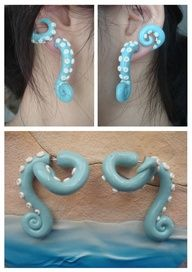 cool octopus earring pic