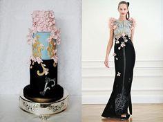 Fashion-Inspired Wedding Cake - Cake by Victoria Mkhitaryan Cakes