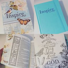 My #inspirebible finally arrived! Can't wait to start coloring and #biblejournaling #bible by mom2my2boys