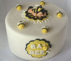 Items Similar To BUMBLE BEE BABY Cake Topper Baby In Bee Outfit Fondant Shower First Birthday Party On Etsy