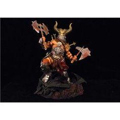 Diablo 3 Barbarian wearing a helmet PVC action figure