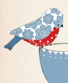 Tea Time Sing a long - Art Print - choose your favourite colour. €12.00, via Etsy.