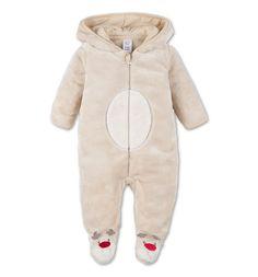 Pyjama bébé dans beige