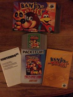 #n64 Banjo-tooie Complete In-box Used from $40.0