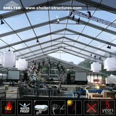 So, meet the #cleartoptent , would you like to have one for your own party or wedding? as it provides bright inner space and enough catering area. admin@shelter-structures.com 0086 139 2885 8552 http://www.partytentsale.com/clear-top-tent-for-outdoor-music-festival/
