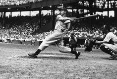 Joe Dimaggio, New York Yankees.
