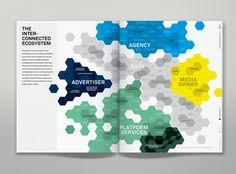 IPG Media Economy Report by Martin Oberhäuser, via Behance #MDMC400