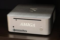 This is the Amiga mini, which is the current Amiga-branded product. It's avaliable in a barebones configuration only for enthusiasts wanting to put in their own ITX mainboard.
