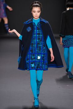 Anna Sui Fall 2013 Ready-to-Wear - Collection - Gallery - Look 1 - Style.com